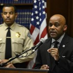 Denver Mayor Michael Hancock speaks to members of the press about the findings and recommendations of the independent review of the Denver Sheriff Department at the City and County building on May 21, 2015 in Denver, Colorado. (Helen H. Richardson, The Denver Post )
