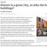 Denver Post editorial published April 4, 2015