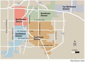 Denver School Map