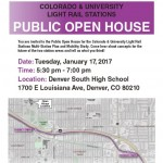 Public Meeting Light Rail @ Denver South High School | Denver | Colorado | United States